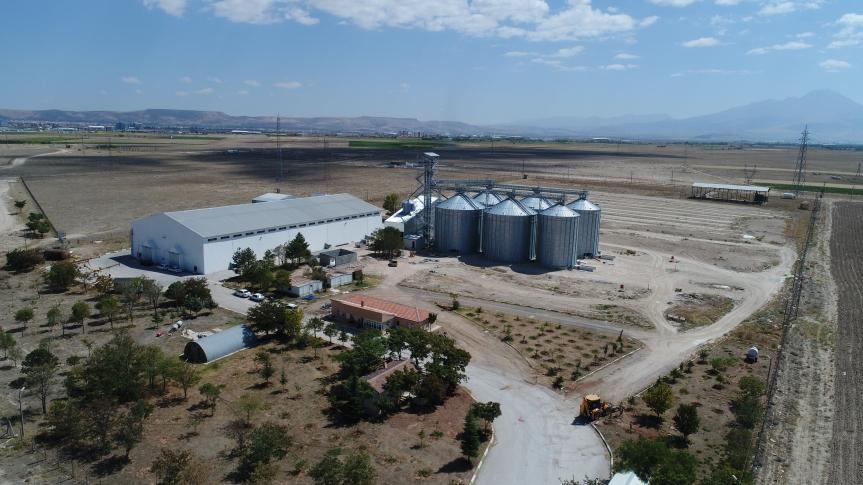 Aksaray Ticret Borsası Tarım Ürünleri Lisasnlı Depoculuk A.Ş Aratol Tesisleri