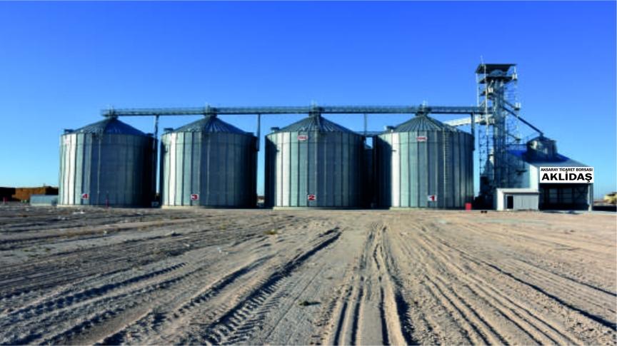Aksaray Ticret Borsası Tarım Ürünleri Lisasnlı Depoculuk A.Ş Eşmekaya Tesisleri